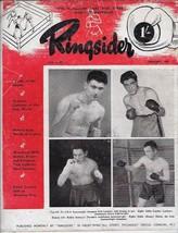 Ringsider Great Britain Boxing Magazine January 1949 Volume 4 No 1 Dick ... - $22.00