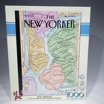 The New Yorker Jigsaw Puzzle New Yorkistan 1000 Pieces 2009 New Sealed - $42.95