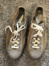 Cole Haan Women's Sz 7.5 Leather Shoes Patent Suede Sneakers Ni Tech Gra... - $29.69