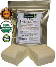 Real SHEA BUTTER Certified ORGANIC RAW PREMIUM - $38.48