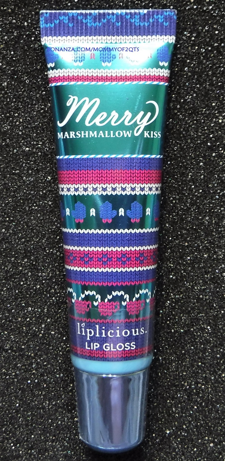 Primary image for Bath Body Works Liplicious MERRY MARSHMALLOW KISS Lip Gloss Sealed READ
