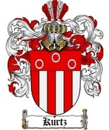 Kurtz Family Crest / Coat of Arms JPG or PDF Image Download - $6.99