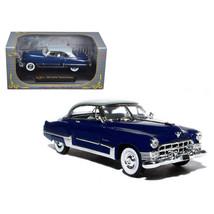 1949 Cadillac Series 62 Sedan Dark Blue 1/32 Diecast Model Car by Signat... - $29.89