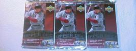 3 (three) new 1999 UPPER DECK series 2 baseball PACKs sealed cards UD se... - $12.82
