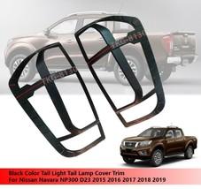 Tail Light Taillight Cover Black For Nissan Navara NP300 2015 - 2018 2019 - $45.19