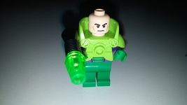 Lego Marvel Superheroes Juniors Green Lex Luthor Minifigure 10724 Nr Mnt - $12.99