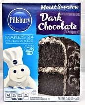 Pillsbury Moist Supreme Dark Chocolate Cake Mix 15.25 oz - $3.95