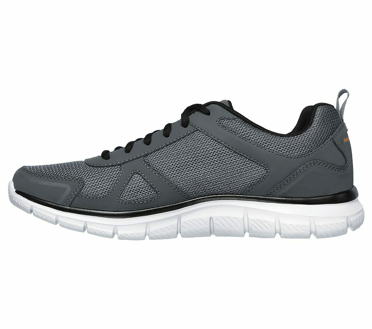 Skechers Men's Memory Foam shoes Charcoal Sport Comfort Train Mesh Sneaker 52631