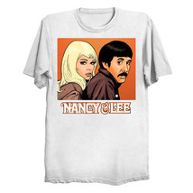 Nancy Sinatra & Lee Hazlewood Unisex T-Shirt *Free Us Shipping* - $29.99