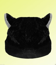 BLACK CAT ANIME KITTY GOTH RAVE COSPLAY CAP HAT for Children - $9.48