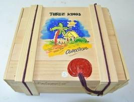 Kurt Adler POLONAISE Three Kings Ornament Collection In Box - $98.99
