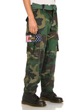 SW Men's Tactical Combat US Force Military Army Cargo Pants Trousers with Belt image 6