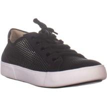 naturalizer Morrison 3 Low Top Lace Up Sneakers, Black Mesh, 7.5 US / 37... - $34.55