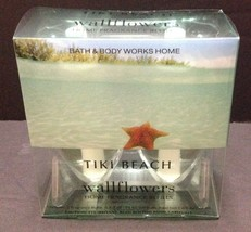 2 BATH & BODY Works TIKI BEACH Wallflower Fragrance Refills Refill bulb... - $17.81