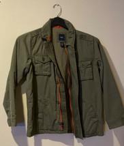 GAP KIDS Never Worn- L- Cargo Insulated Jacket Olive Color- Super Cool! - $23.00