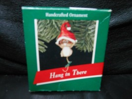 "Hallmark Keepsake ""Hang In There"" 1989 Ornament NEW - $3.96"