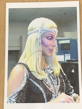 Cher Hand-Signed Autograph 15x20 With Lifetime Guarantee - $125.00