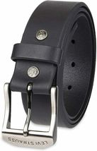 Levi's Men's Stylish Classic Premium Genuine Leather Belt Black 11LV0204 image 9