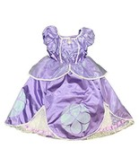 DisneyParks Princess Sofia The First Costume Dress Purple Glitter Girls ... - $59.39