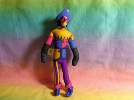 Vintage 1996 Burger King The Hunchback of Notre Dame Plush Jester Toy - $2.54