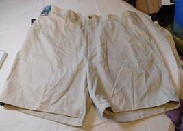 Roundtree & Yorke Travel Smart Mens Shorts 52 Big Man Classic Fit Flat F... - $41.85