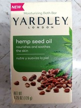 ✔️Yardley Soap Bar Hemp Seed Oil 4.25OZ : 12 Bars - $39.19