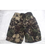 Boys Green Board Shorts Swimming Trunks Size S/P 7-8 George 100 Polyester  - $11.68