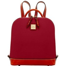 Dooney & Bourke Zip Pod Backpack Red
