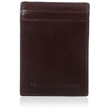 Tommy Hilfiger Men's Leather Magnetic Front Pocket ID Credit Card Slim Wallet