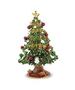 Bejeweled Christmas Tree Trinket Box - $76.99