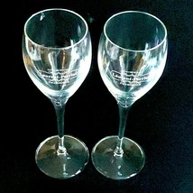 "2 (Two) LAURENT-PERRIER Maison Fonde'e 1812 Crystal Champagne Flutes 7 3/4"" Tall image 2"
