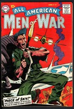 ALL AMERICAN MEN OF WAR #58-1958-WWII-DC-SILVER AGE-HIGH GRADE - $151.32