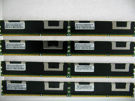 64GB  8X8GB MEMORY FOR HP PROLIANT BL280C G6 BL460C G6 BL490C G6