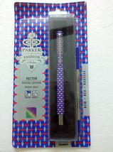Parker Vector Special Edition CT Roller BallPoint Ball Pen 3D Block Red/... - $11.99