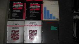 1994 Toyota T100 Service Shop Reparatur Werkstatt Manuell Set OEM 94 W W... - $296.98