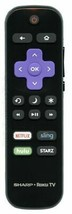 Refurbished Sharp Remote Control For LC65LBU591C, LC65LBU591U - $21.73