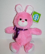 "Animal Adventure EASTER BUNNY RABBIT 8"" PINK COTTONTAIL Soft Toy Plush B... - $24.16"