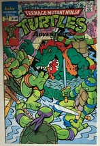 TEENAGE MUTANT NINJA TURTLES ADVENTURES #6 (1989) Archie Comics VG+/FINE- - $9.89