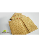EcoQuote EcoQuote Passport Cover Simple Handmade Cork Material Great for... - $20.50
