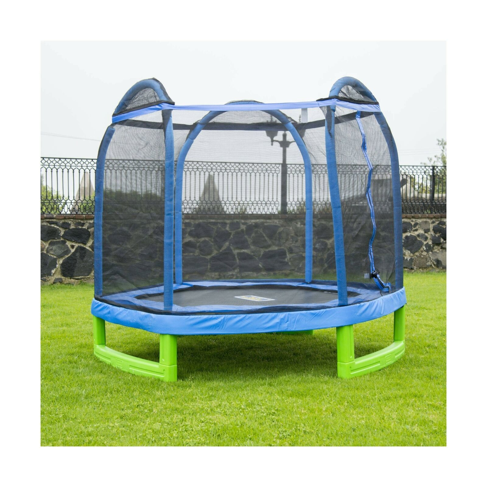 Trampoline Parts Center Coupon Code: Bounce Pro 7-Foot My First Trampoline Hexagon (Ages 3-10