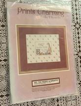 Brand New Needles and Hoops Cross Stitch Kit 725 Prints Charming Baby Sa... - $11.49