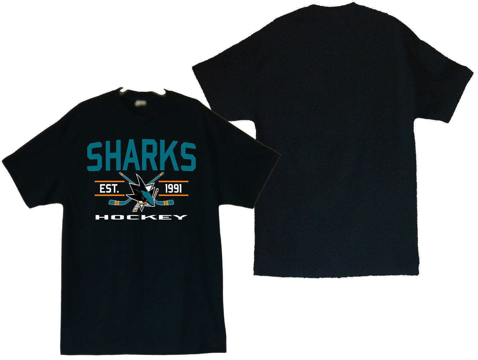Primary image for San Jose Sharks Est. 1991 Men's T-Shirts Sizes (S thru 4XL)