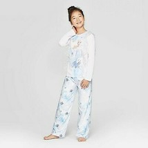 Girls' Frozen 2pc Pajama Set - White 8 - $17.50