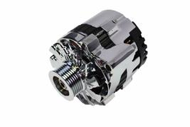 GM CS130 Style 160 Amp Alternator with Serpentine Pulley image 3