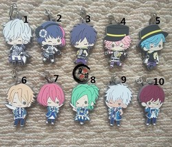 Japan Anime B-project THRIVE MooNs Keychain Rubber Strap Charm Gift - $3.94+