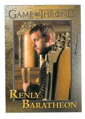Primary image for Game of Thrones trading card #59 2012 Renly Baratheon