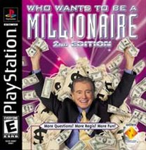 Who Wants To Be A Millionaire 2nd Edition [PlayStation] - $4.92