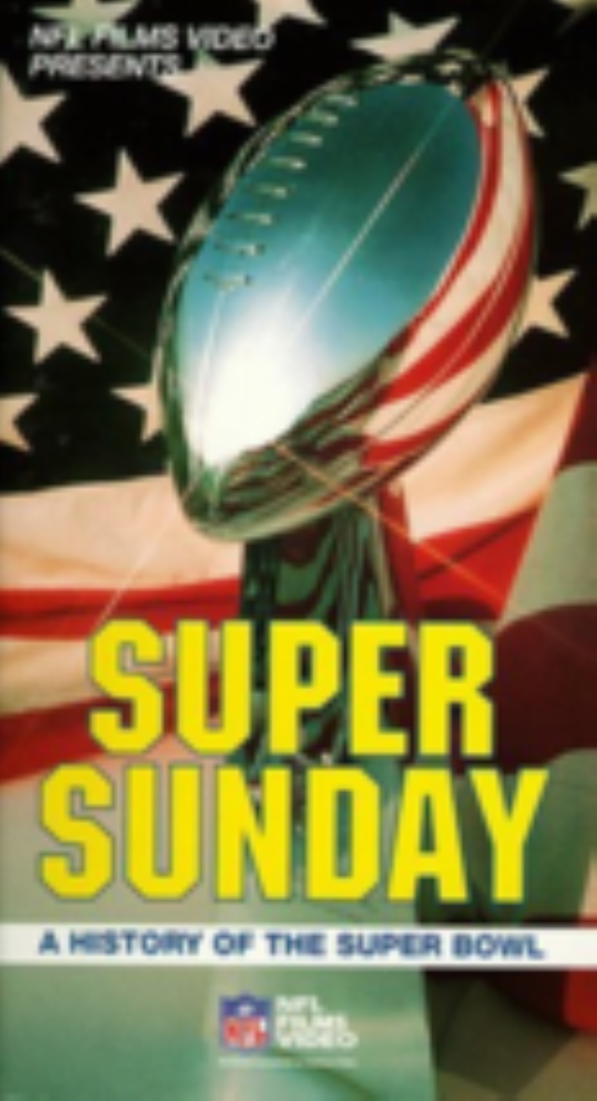 History of the Super Bowl Vhs