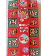 Christmas Dora the Explorer Lights Holiday String New Nick Jr Fun House ... - £6.81 GBP