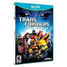Transformers Prime: The Game - Nintendo Wii U [New Video Game] - $19.99